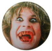 Ozzy Osbourne - 'Blood Teeth' Button Badge